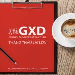 Phần mềm Đấu thầu GXD lập giá dự thầu chào thầu hay nhất hiện nay