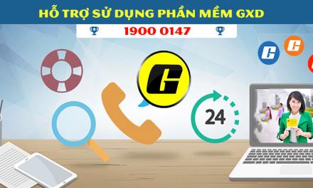 Cách liên hệ trợ giúp xử lý vướng mắc sử dụng phần mềm Dự toán GXD