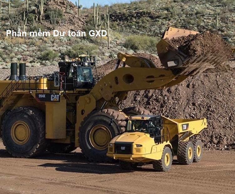 Áp dụng định mức bố trí tối ưu dây chuyển máy thi công công tác đào đắp